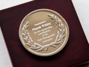 Niamh's award