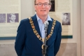 Cork City Lord Mayor Cllr Des Cahill speaking at the awards ceremony of the 4th Cork International Salon of Photography