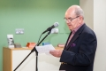 Cork Salon Chairman Joe Forde speaking at the awards ceremony of the 4th Cork International Salon of Photography