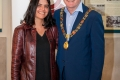 Lady Mayoress Ankie Janssen & Lord Mayor Cllr Des Cahill