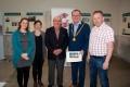 Niamh Whitty (Cork Salon), Eileen O'Shea (Events Manager St Peter's), Joe Forde (Cork Salon), Cllr Des Cahill (Lord Mayor), Paul Maher (Cork Salon)