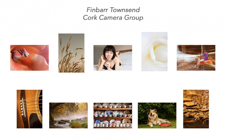 Finbarr Townsend LIPF, Cork Camera Group