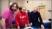 Judges John Hickey, Paul Reidy and John Hooton
